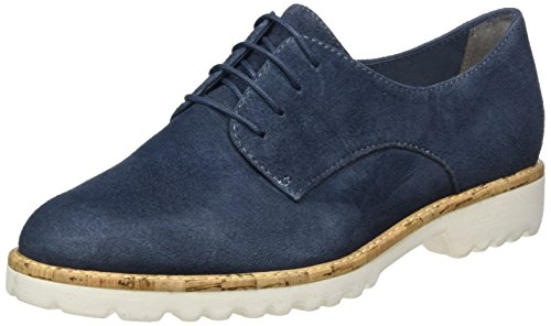 Tamaris Damen 23208 Oxford, Blau (Denim 802)