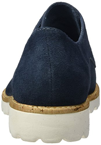 Tamaris Damen 23208 Oxford, Blau (Denim 802) - 2
