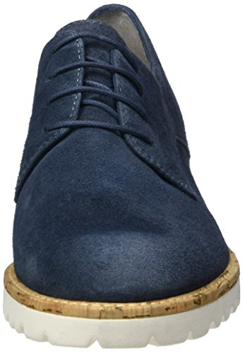 Tamaris Damen 23208 Oxford, Blau (Denim 802), 41 EU - 4