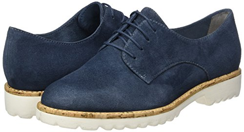 Tamaris Damen 23208 Oxford, Blau (Denim 802), 41 EU - 5