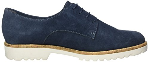 Tamaris Damen 23208 Oxford, Blau (Denim 802), 41 EU - 6