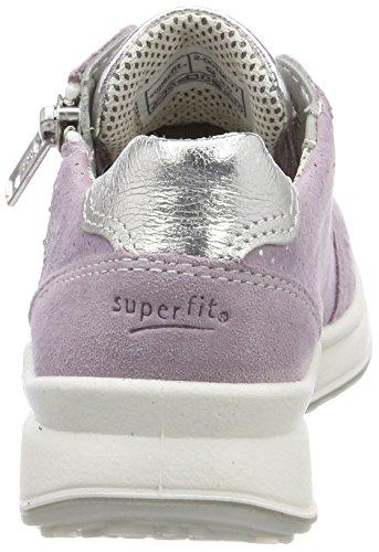 Superfit Mädchen Merida Sneaker, Violett (Lila Kombi), 35 EU - 2
