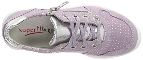 Superfit Mädchen Merida Sneaker, Violett (Lila Kombi), 35 EU - 7