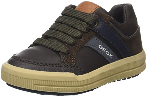 Geox Jungen J Arzach Boy Sneaker, Braun