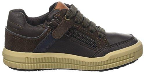 Geox Jungen J Arzach Boy I Sneaker, Braun (Brown/Navy), 36 EU - 6