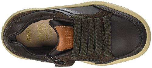 Geox Jungen J Arzach Boy I Sneaker, Braun (Brown/Navy), 36 EU - 7