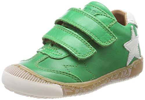 Bisgaard Klettschuhe Unisex-Kinder Sneaker, Grün