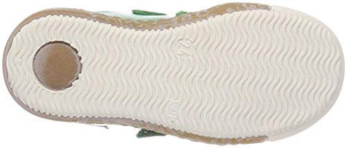 Bisgaard Unisex-Kinder Klettschuhe Sneaker, Grün (Green), 32 EU - 2