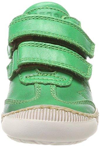 Bisgaard Unisex-Kinder Klettschuhe Sneaker, Grün (Green), 32 EU - 3