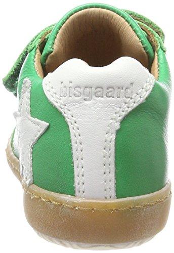 Bisgaard Unisex-Kinder Klettschuhe Sneaker, Grün (Green), 32 EU - 5