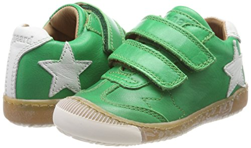 Bisgaard Unisex-Kinder Klettschuhe Sneaker, Grün (Green), 32 EU - 6