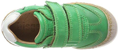 Bisgaard Unisex-Kinder Klettschuhe Sneaker, Grün (Green), 32 EU - 7