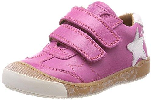 Bisgaard Mädchen Klettschuhe Sneaker, (Pink)