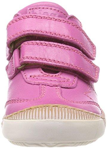 Bisgaard Mädchen Klettschuhe Sneaker, (Pink), 28 EU - 3