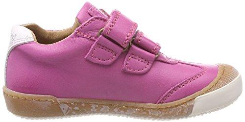 Bisgaard Mädchen Klettschuhe Sneaker, (Pink), 28 EU - 4