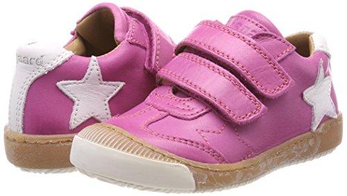 Bisgaard Mädchen Klettschuhe Sneaker, (Pink), 28 EU - 5