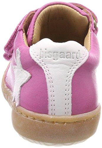 Bisgaard Mädchen Klettschuhe Sneaker, (Pink), 28 EU - 6