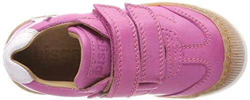 Bisgaard Mädchen Klettschuhe Sneaker, (Pink), 28 EU - 7