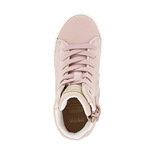 Geox Mädchen J Kilwi Girl H Hohe Sneaker, Pink - 2