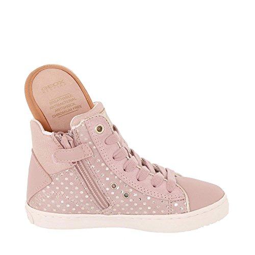 Geox Mädchen J Kilwi Girl H Hohe Sneaker, Pink - 4
