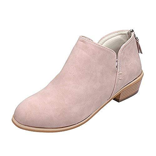 Damen Boots, rosa