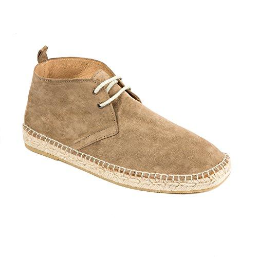weltenmann | Premium Herren Boots Espadrilles in Wildleder