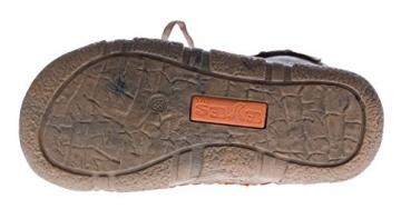 Leder Stiefel TMA Damen Winter Schuhe gefüttert Braun Damenstiefel im used look Gr. 39 - 6