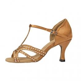 Moin Damen Latin Dance Shoes High Heel Sandale Ballschuhe Tanzschuhe - 1