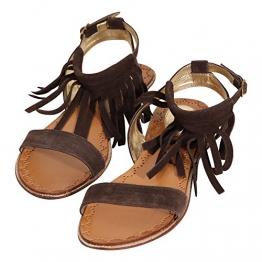 KILLAH Damen Sandalette KATIA in Braun Größe 36 - 1