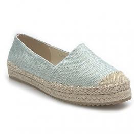 Kayla shoes Damen Schuhe Espadrilles Slipper Pailletten LL57 Green 38 - 1