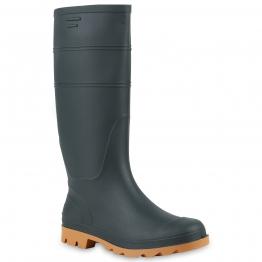 Herren Boots Gummistiefel - Dunkelgrün