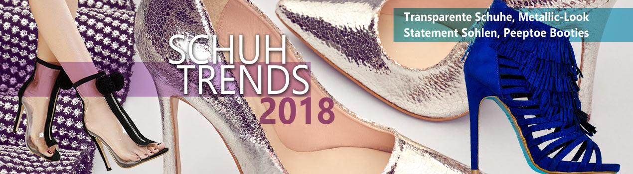 Das sind die Schuhtrends 2018 - Entdecke sie auf Schuhe-Ja.de