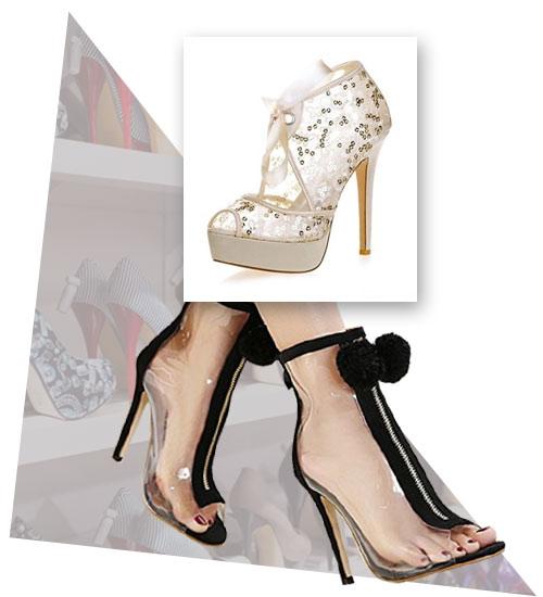 Transparente Schuhe bei Schuhe-Ja.de entdecken